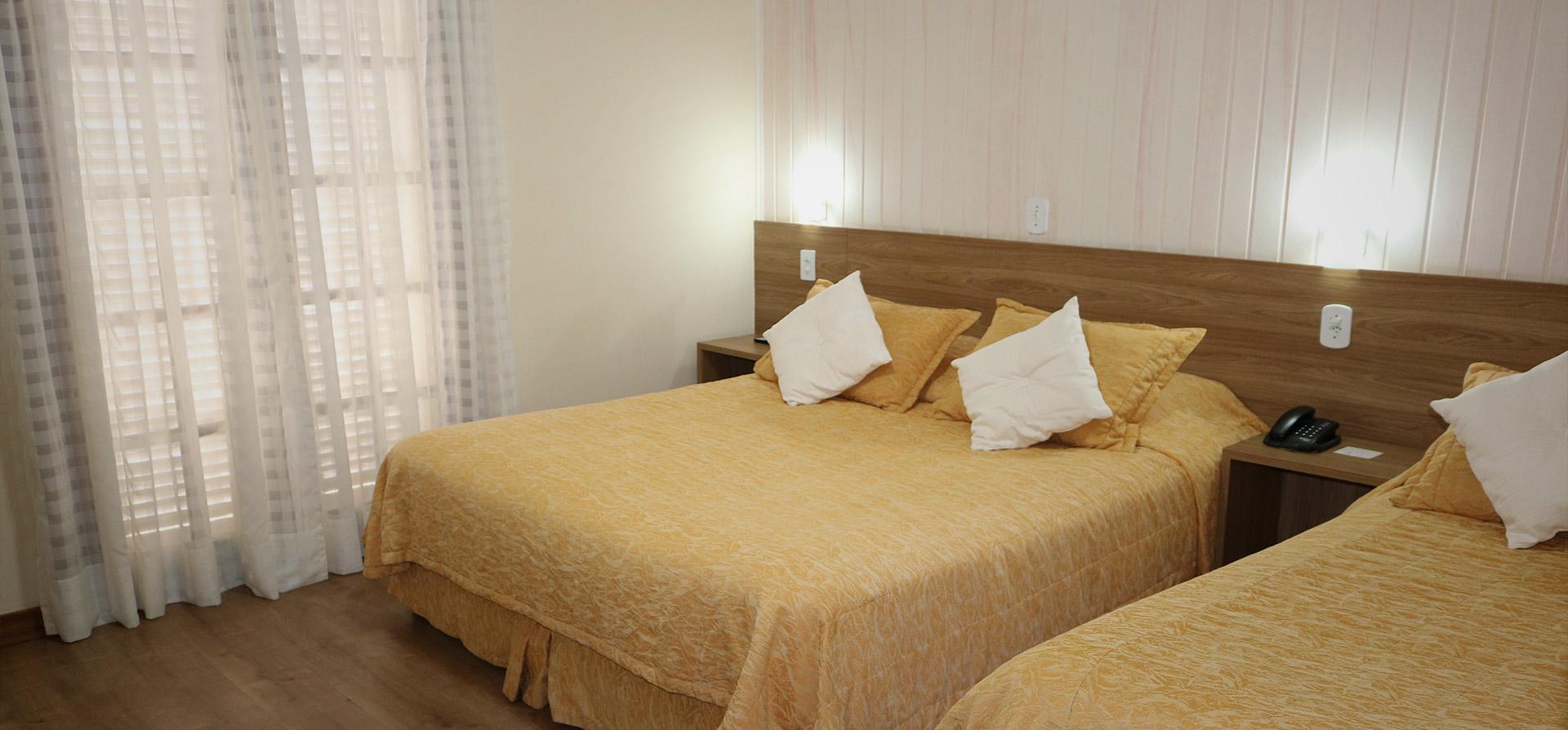 Quarto Hotel em Campos do Jordão Capivari